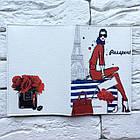 Обложка на паспорт Девушка в красном, фото 3