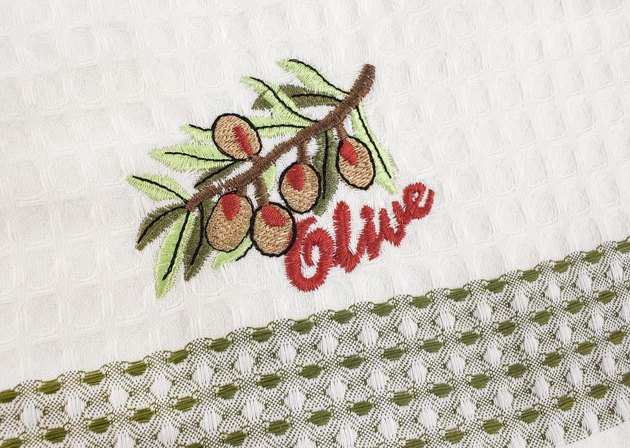 Вышивка на вафельном полотенце