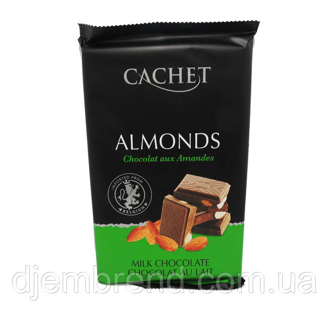 Молочный шоколад Каше с миндалем