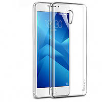 TPU чехол iPaky Clear Series (+стекло) для Meizu M5 Note (Бесцветный (прозрачный))