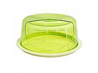 Тортовница круглая цветная Bager Smart, 33,5 x 14,5 см BG-425, фото 1