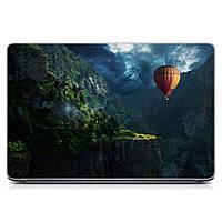 Виниловая наклейка для ноутбука Воздушный шар Матовая