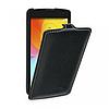 Кожаный чехол (флип) TETDED для LG L Fino Dual D295 чёрный