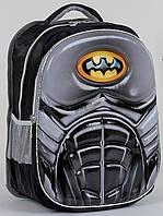 Школьный рюкзак ортопедический Бетмен для мальчиков. Детский портфель ранец для школы 3, 4, 5 класс