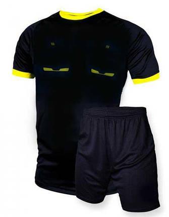 Судейская форма Europaw 019 черно-желтая, фото 2