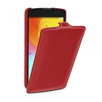 Кожаный чехол (флип) TETDED для LG L Fino Dual D295 красный, фото 1