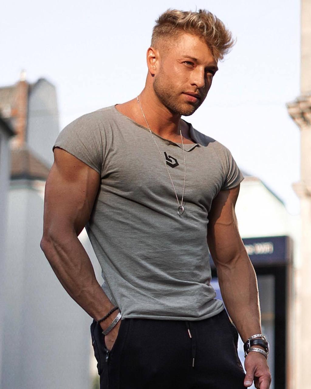 "Мужская футболка ""Muscle Brend"""
