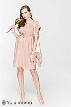 Воздушное платье из вискозы для беременных и кормящих мам размер 42 44 46 48 50, фото 2