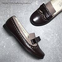 Кожаные туфли Мальви для девочки 30-31 размер