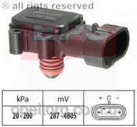 АНАЛОГ для Opel 1247049  GM 98131026 Датчик давления воздуха во впускном колекторе вакуумный 6238166 97180655 EPS 1993.024 Eps 1.993.024 /  / Датчик