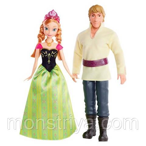 Набор кукол Анна и Кристоф из мф Холодное сердце Frozen