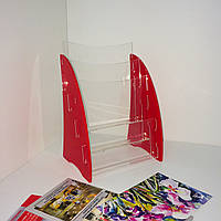 3 х ярусная подставка для буклетов журналов., фото 1