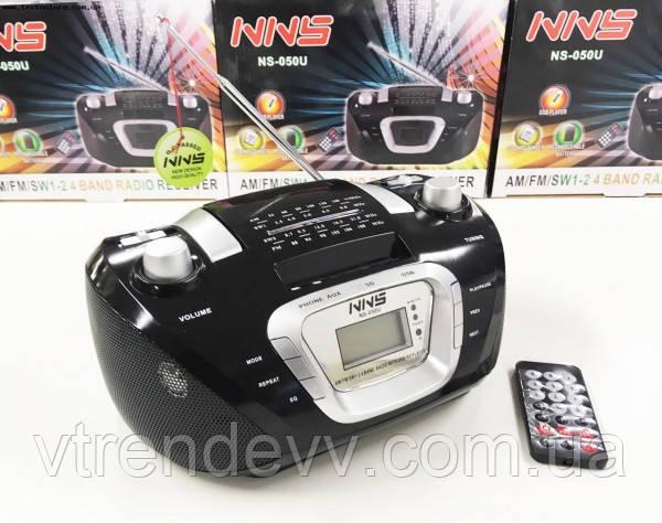 Радиоприёмник портативная колонка NNS NS050U Черный