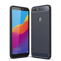 TPU чехол iPaky Slim Series для Huawei Y6 (2018) (Синий)