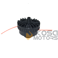 Катушка электро средний носик черная d=8 мм