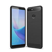 TPU чехол Slim Series для Huawei Y9 (2018) / Enjoy 8 Plus (Черный)