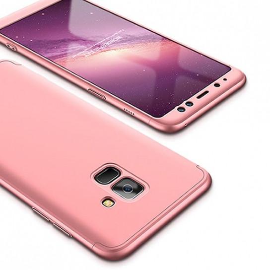 Пластиковая накладка GKK LikGus 360 градусов для Samsung A730 Galaxy A8+ (2018)