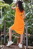 Платье молодежное из хлопка  размер  42 -48 цвет зеленый, фото 8