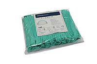 Шапочки одноразовые Одуванчик (100 шт/уп) зеленые
