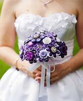 Свадебные букеты из бусин