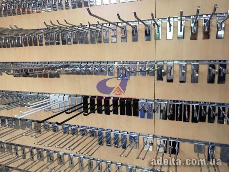 Крючки в экономпанели 50-300мм