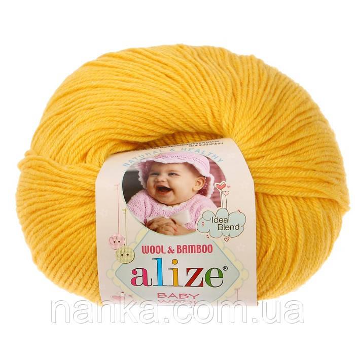 Alize, Baby Wool 216 желтый