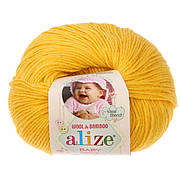 Alize, Baby Wool 216 жовтий