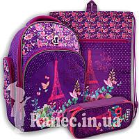 Рюкзак школьный   Kite K19-706M-1 париж для девочки Paris набор