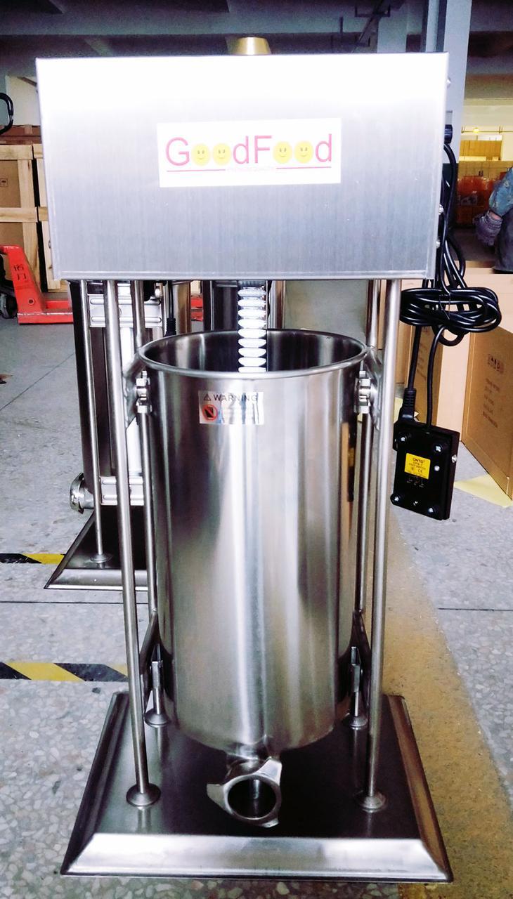 Шприц для колбас электрический вертикальный GoodFood SF15VE
