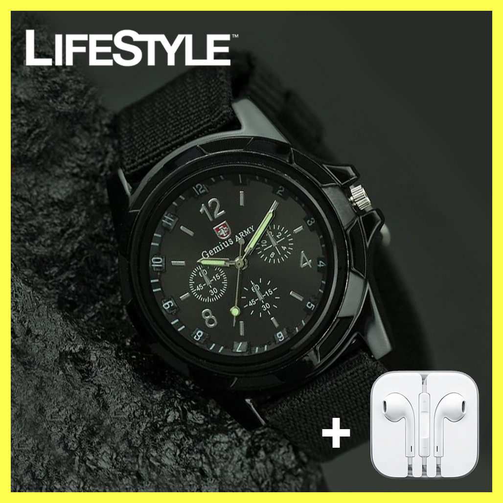 Мужские часы Swiss Army + Подарок! Наушники
