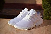 Женские кроссовки Adidas POD-S3.1 на лето из текстиля качественные в белом цвете, ТОП-реплика, фото 1