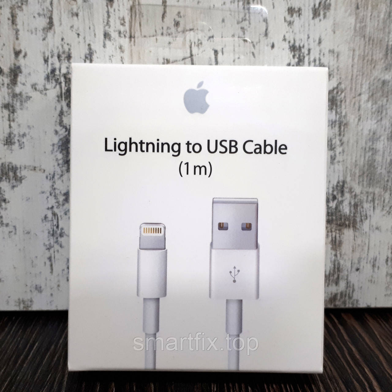 Кабель живлення Apple Lightning to USB (1m)
