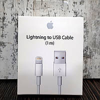 Кабель живлення Apple Lightning to USB (1m), фото 1