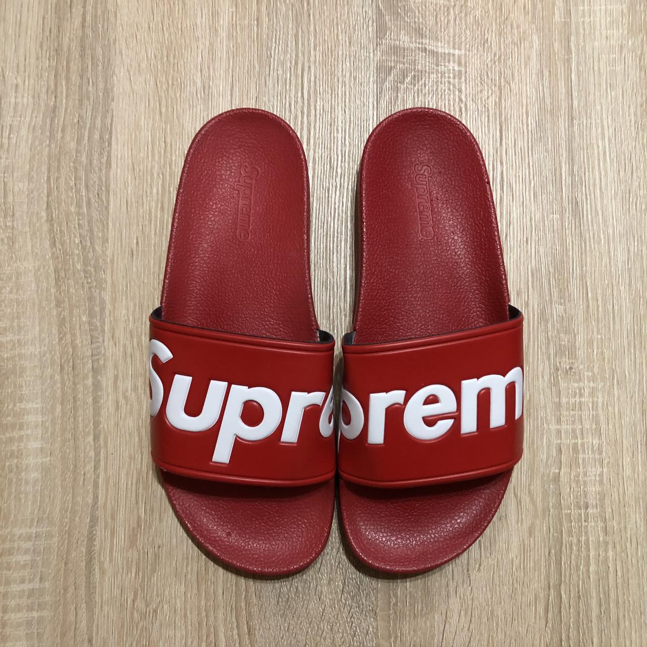 89e6fd680 Шлепки (Тапки) Supreme Красные: продажа, цена в Харькове. сандалии и ...