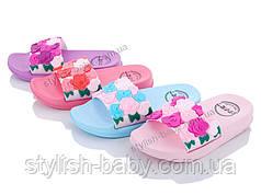 Детская коллекция летней обуви 2019. Детские шлепанцы бренда Lion для девочек (рр. с 24 по 29)