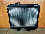 Радиатор охлаждения 3-х рядный УАЗ (алюминий), фото 2