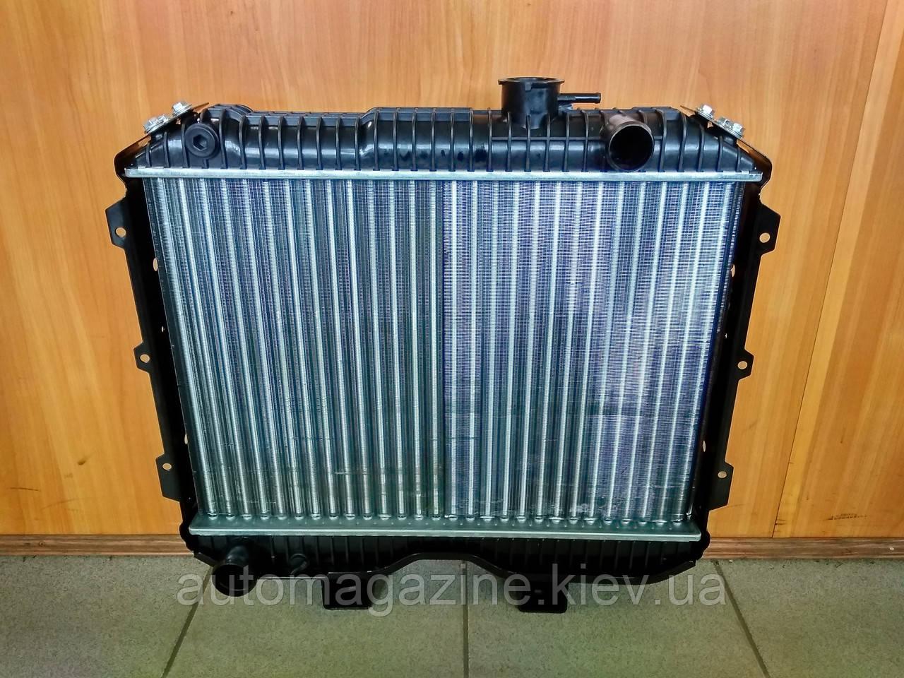 Радіатор охолодження 3-х рядний УАЗ (алюміній)