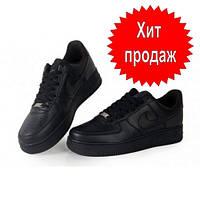 Nike! 2019! Хит сезона! Топ! Кроссовки черные Найк Аир Форс