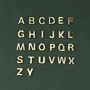 """Нежный браслет """"Буква"""" золотого цвета (в наличии: D), фото 3"""