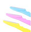 Набор из 3х бритв для коррекции линии бровей Eyebrow Razor, фото 2