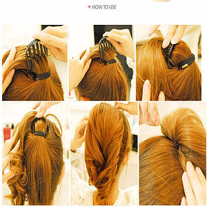 Приспособление для создания объемного хвоста и других причёсок, фото 2