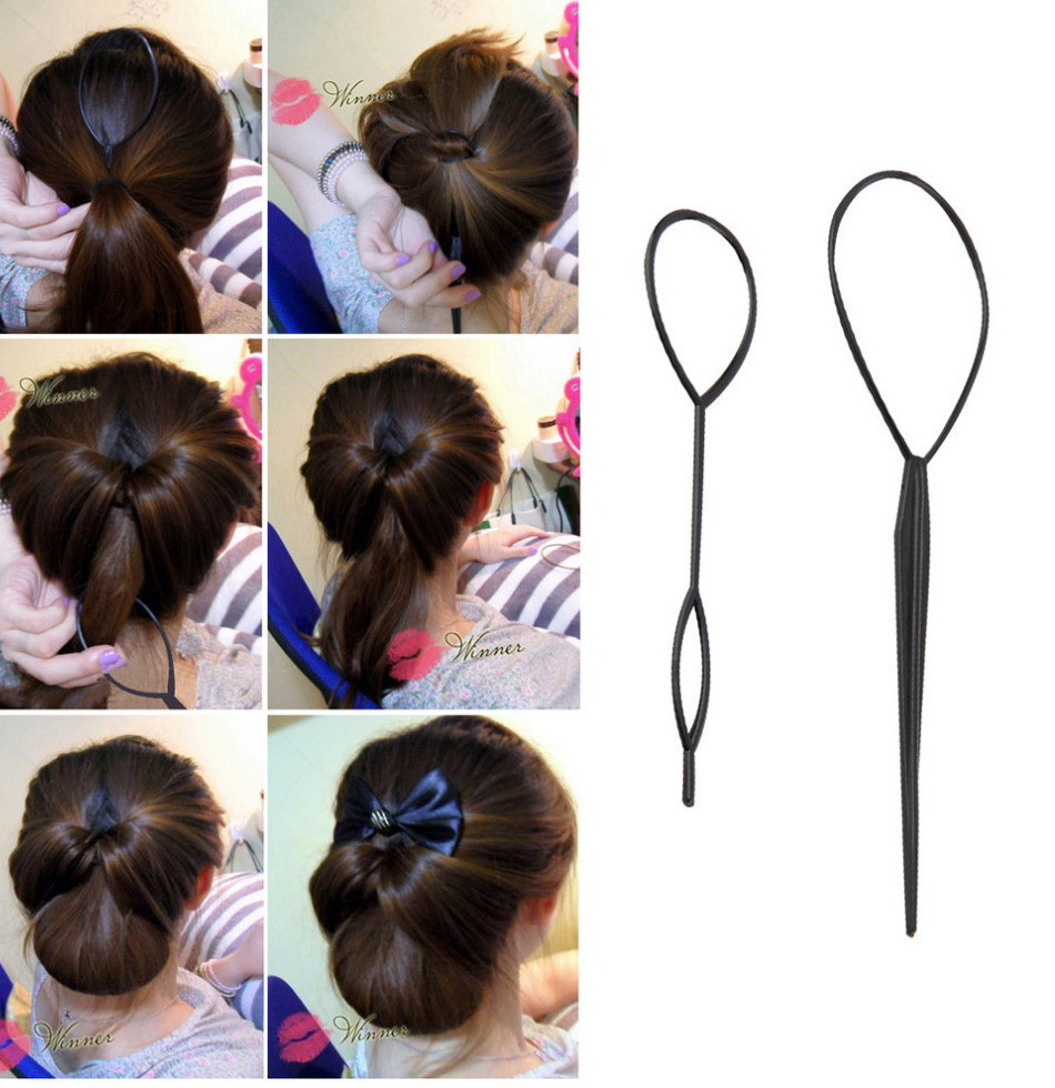 Набор петель для вывернутого хвоста и других причёсок