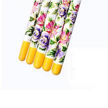 Набор кисточек для дизайна ногтей, nail art (5 шт.), фото 2