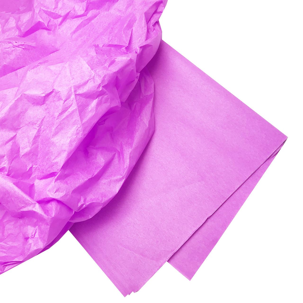 Бумага тишью фиалковая 10 листов