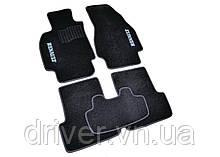 Килимки текстильні  для Renault Megane II (2002-2008) /Чорні, кт 5шт BLCCR1523