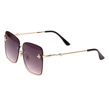 Солнцезащитные очки  Женские цвет Разноцветный ( 1843 С1 ), фото 2