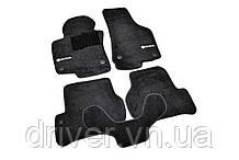 Килимки текстильні  для Skoda Octavia A5 (2004-2013) /Чорні Premium BLCLX1561