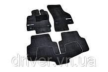 Килимки текстильні  для Skoda Octavia A7 (2012-) /Чорні Premium BLCLX1563