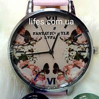 Женские часы LVPAI Розовый ремешок, фото 1