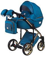 Дитяча універсальна коляска 2 в 1 Adamex Luciano Polar Gold Y826